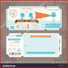 ticket wedding invitations ticket invitation 61099 19 plane ticket invitation free