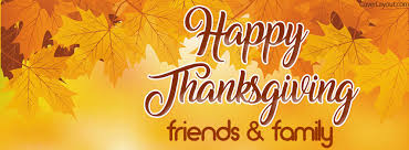happy thanksgiving friends and family cover happy