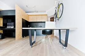 Storage Ideas For A Small Apartment Small Apartment Doubles As A Design Studio And Playground