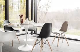 wood dining room tables and chairs saarinen round dining table design within reach