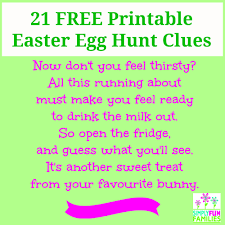 Easter Egg Hunt Ideas Make This Easter The Easiest Yet With Our 21 Easter Egg Hunt Clues