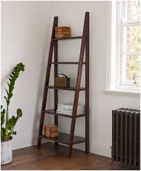 decorative ladder shelves australia image of mainstays leaning