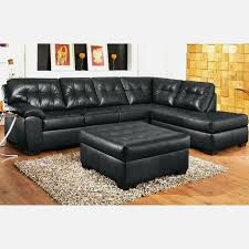 luxury aspen sectional leather sofa with ottoman interior