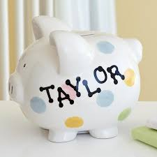 customized piggy bank personalized piggy banks at personal creations