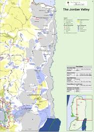 Map Of Al Maps U2013 Jordan Valley Solidarity