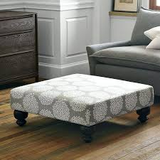 tufted ottoman coffee table with shelf large leather round
