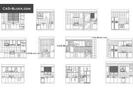 Autocad Kitchen Cabinet Blocks Kitchen Elevation Dwg Cad Blocks Free
