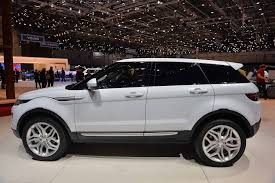 land rover lifted 2016 land rover u0027s range rover evoque at 2015 geneva auto show