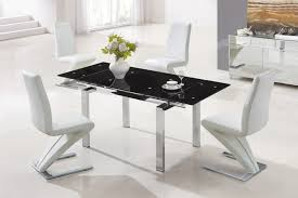 Leather Dining Room Chairs Design Ideas Dining Room Modern White Leather Dining Chair Design Ideas Square