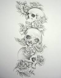 2018 superb arm skull tattoo sleeve ideas for women photos