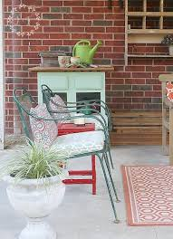 Patio Furniture On A Budget Budget Friendly Patio Makeover With A New Vintage Mix Hometalk