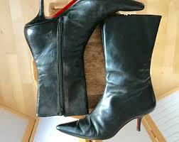 womens boots kitten heel kitten heel boots etsy