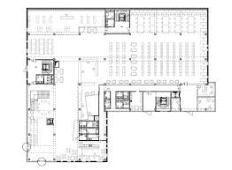 gallery of university library a02 atelier 23 university library first floor plan