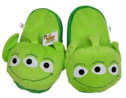 toy story alien slippers plush footwear amazon uk toys u0026 games