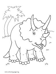 dinosaur print coloring