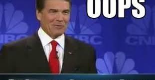 Rick Perry Meme - rick perry s mental block at gop debate goes viral gets meme