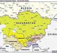 russia map border countries central asia johnson s russia list