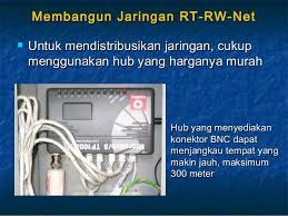 membuat rt rw net instalasi rt rw net