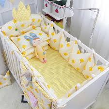 Luxury Baby Bedding Sets 5pcs Set Nordic Style Toddler Baby Bedding Set Crown Shape Luxury