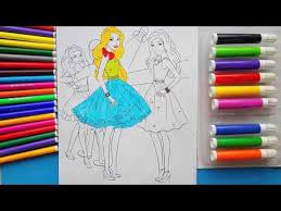 barbie coloring pages coloring games