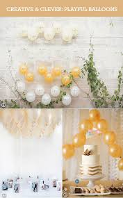 wedding backdrop balloons balloons in weddings as backdrop and ceiling decor unique