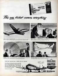 united airlines extra baggage united airlines ad this one ticket flashbak