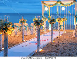 wedding arches coast beautiful wedding arch on stock photo 322279370
