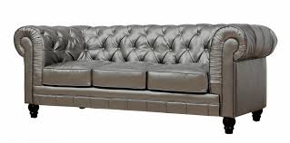 Klaussner Couch Zahara Leather Sofa By Tov Furniture Buy Online At Best Price
