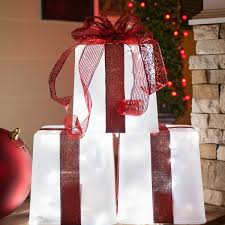 Decorative Christmas Boxes Light Up by Light Up Decorative Presents U2022 Lighting Decor
