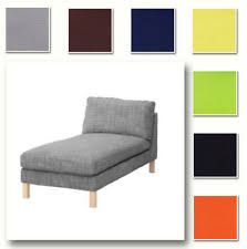 Karlstad Loveseat And Chaise Lounge Ikea Karlstad Chaise Lounge Ebay