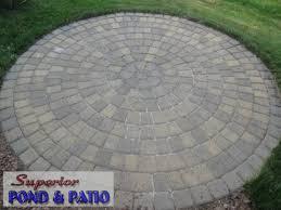 Circular Paver Patio Circular Paver Patio Outdoor Goods