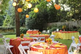 a casual backyard party corcoran events pinterest