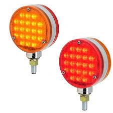 Led Pedestal Light Big Rig Chrome Shop Semi Truck Chrome Shop Truck Lighting And