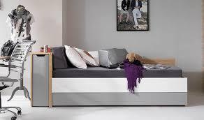 canape lit ado lit coffre 1 place modulable en bois chambre adolescent fille et