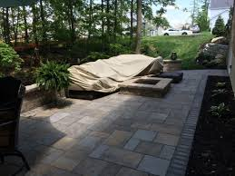 Unilock Fire Pit by Columbus Unilock Patio And Hardscapes Builder