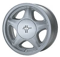 mustang pony wheels 1991 ford mustang pony wheel 87 93 mustangs ford
