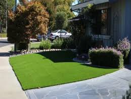 Fake Grass For Backyard by Synthetic Grass Cost Yuma Arizona Landscaping Business Front Yard