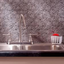 fasade 24 in x 18 in rib pvc decorative backsplash panel in