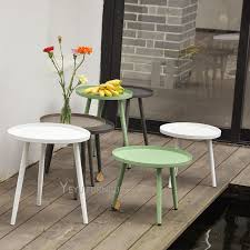 Metal Side Tables For Living Room Modern Design Small Size Metal Side Table Outdoor Loft Tea Table