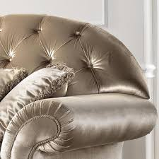 canap style italien canapé italien 2 places en tissu de style baroque liberty