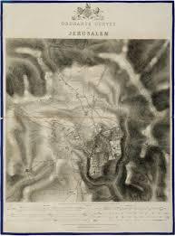 Map Of Jerusalem Ynetnews Travel First Modern Maps Of Jerusalem Auctioned Off