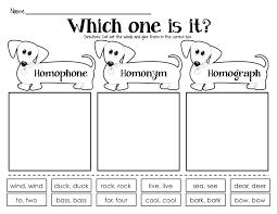 kearson u0027s classroom homophones homonyms u0026 homographs