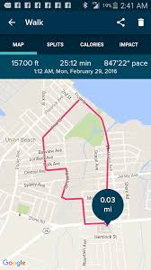 Mapping A Route by Solved Blaze Shows Route Fitbit Community