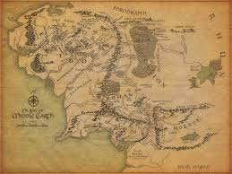 Naruto World Map by Image Middle Earth Map Jpg The One Wiki To Rule Them All