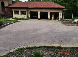 rockford driveways stamped concrete brick paver natural stone