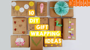 10 gift wrapping ideas quick u0026 easy ideas using brown paper
