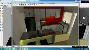 Sketchup Kitchen Design Sketchup Vray Kitchen Cabinet Youtube