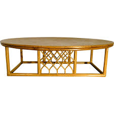 large vintage coffee table large vintage rattan coffee table 1960s design market