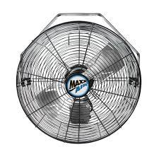 maxxair heavy duty 14 exhaust fan maxxair 18 in 3 speed wall mount fan with wi fi controls hvwm