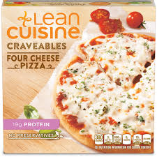 are lean cuisines healthy four cheese pizza lean cuisine